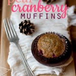 Recipe: Pear Cranberry Muffins