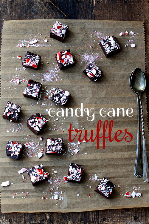 Recipe: Candy Cane Truffles