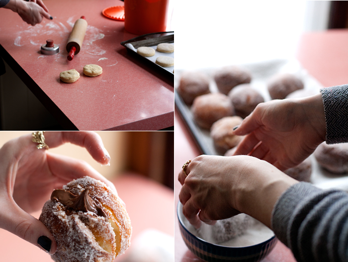 Nutella-Filled Doughnuts and Adventures in Frying - hungrygirlporvida ...