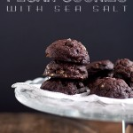 Chocolate Pecan Cookies with Sea Salt