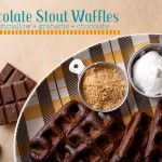 Chocolate Stout Waffle Adventure with Take A Megabite