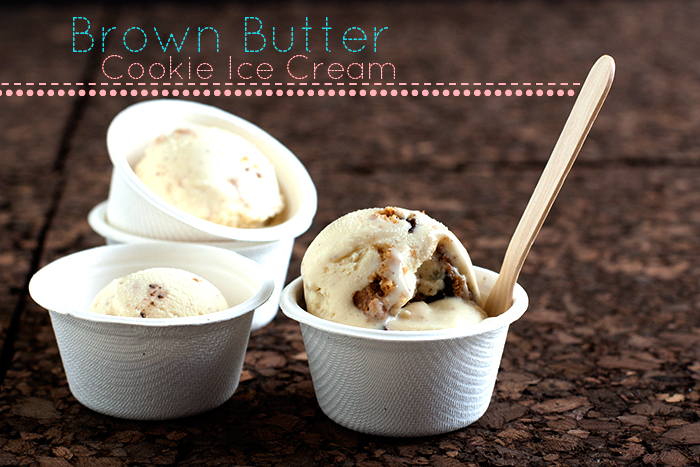 Relatively Recipe: Brown Butter Cookie Ice Cream - hungrygirlporvida.com UW82