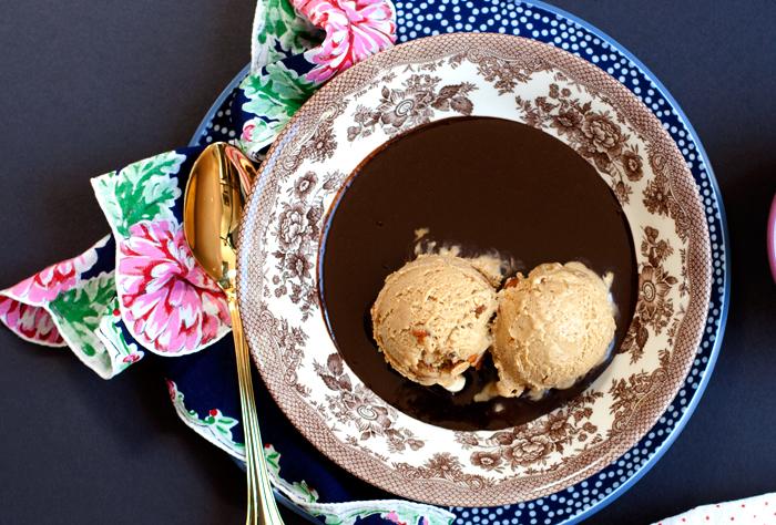 Recipe: Espresso + Toasted Almond Semifreddo | hungrygirlporvida.com