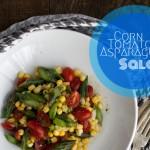 Corn Tomato Asparagus Salad