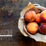 Little Peach Galettes