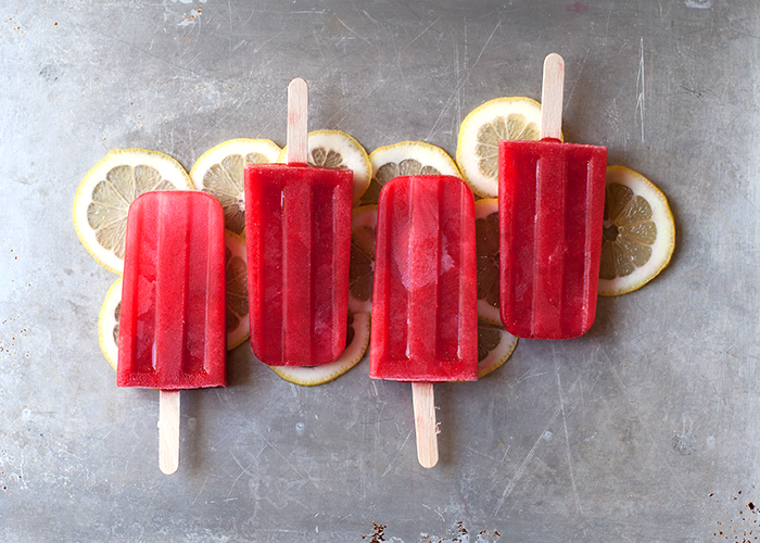 Raspberry Lemonade Ice Pops // Hungry Girl por Vida