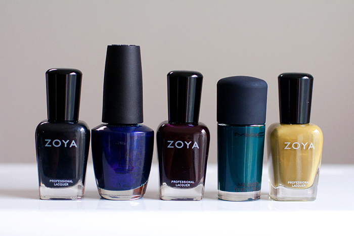 Five Fall Nail Colors
