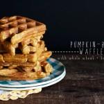 Pumpkin-Beer Waffles