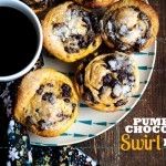 Pumpkin-Chocolate Swirl Buns