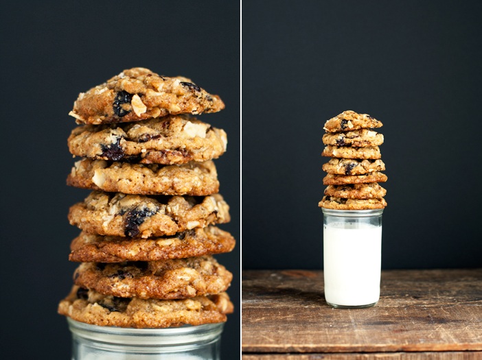 Oatmeal Cherry Cookies w/ Chocolate Chips + Walnuts ...