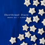 Smoked Salt and Almond Shortbread Stars