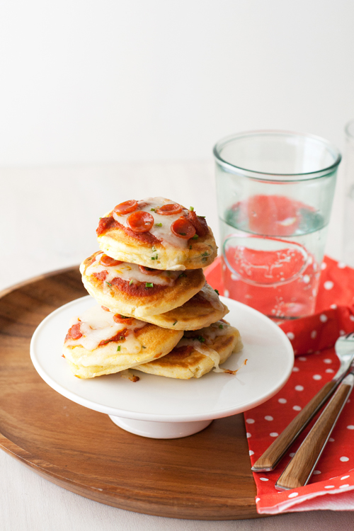These Mini Pizza Pancakes and BLT Breakfast Pizza are perfect for ...