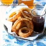 Savory Maple Beer-Battered Apple and Onion Rings