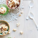 Red Hot Holiday Trends: Dulce de Leche Popcorn Ice Cream with Almonds & Coconut