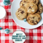 Nutty Brown Butter Chocolate Chip Cookies