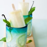 Vanilla Mint Lemonade Pops