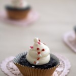 brownie bites with cream cheese frosting
