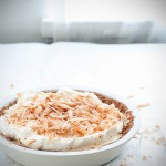 coconut ice cream pie!