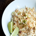Coconut-Lime Rice Salad