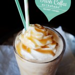 Irish Coffee Milkshake with Whiskey Caramel
