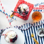 Whisky Cherry Chocolate Soda Floats