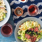 Asian Slaw Steak Salad