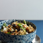 Sweet Potato Quinoa Salad with Cranberries & Feta