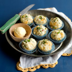 Ham and Chive Mini Biscuit Muffins
