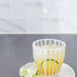 Raw Sugar + Vanilla Margaritas