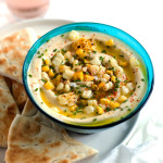 Grilled Corn and White Bean Hummus