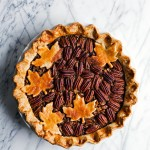 Bourbon Walnut Pecan Pie