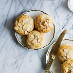 Eggnog and Almond Scones