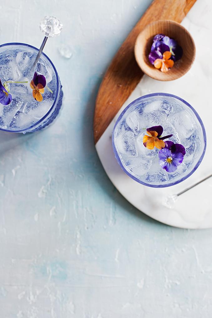 Fleur Collins Cocktail