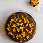 Ice Cream Pie with 3-Ingredient Fudge and Honeycomb