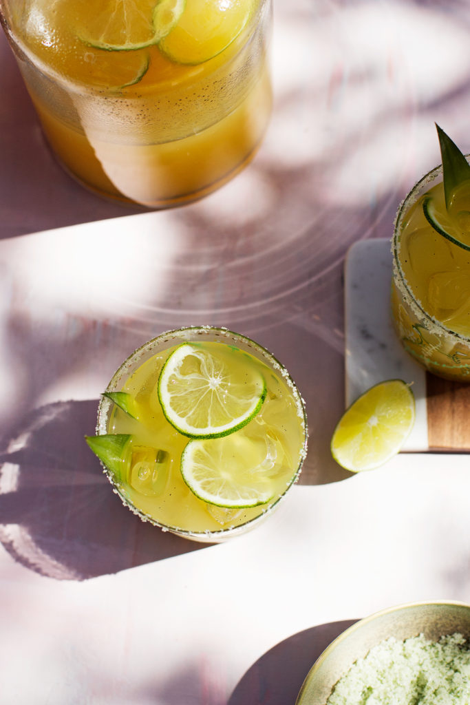 Pineapple Vanilla Bean Margaritas