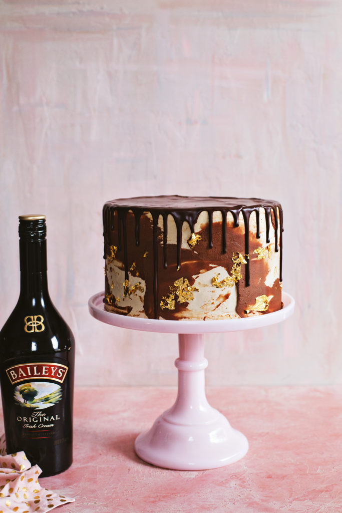 Baileys Chocolate Crunch Cake